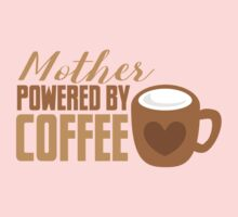 Mother Powered by COFFEE One Piece - Long Sleeve