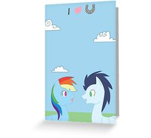 Dashie and Soarin Greeting Card