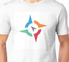 Compass Guide Directions Unisex T-Shirt