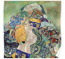 Gustav Klimt - Baby ,Cradle  Poster