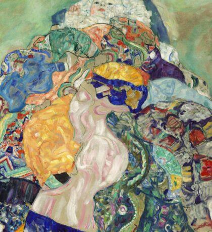 Gustav Klimt - Baby ,Cradle  Sticker