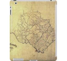 120 Amherst County Virginia iPad Case/Skin