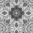 Gypsy Lace in Monochrome by micklyn