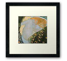Gustav Klimt  - Danae Framed Print