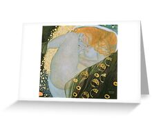 Gustav Klimt  - Danae Greeting Card