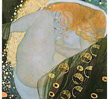 Gustav Klimt  - Danae Photographic Print