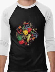 Hot & spicy! Men's Baseball ¾ T-Shirt