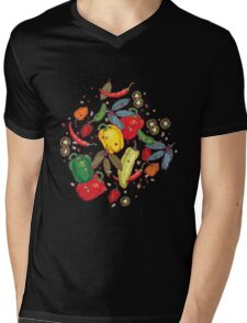 Hot & spicy! Mens V-Neck T-Shirt