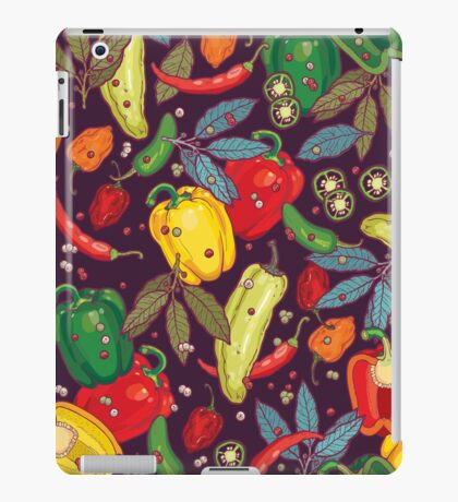 Hot & spicy! iPad Case/Skin
