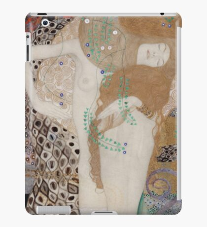 Gustav Klimt  - Water Serpents iPad Case/Skin