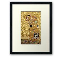 Gustav Klimt  - The Embrace Framed Print