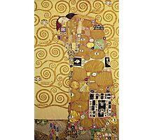 Gustav Klimt  - The Embrace Photographic Print
