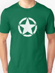 8 Bit Army Star T-Shirt