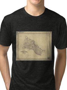 151 Hanover County Virginia Tri-blend T-Shirt