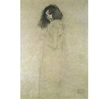 Gustav Klimt  - Portrait Of A Young Woman Photographic Print