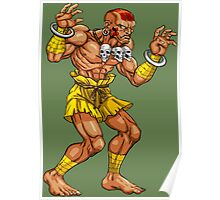 Dhalsim - indian fighter Poster