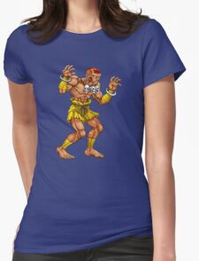 Dhalsim - indian fighter Womens Fitted T-Shirt