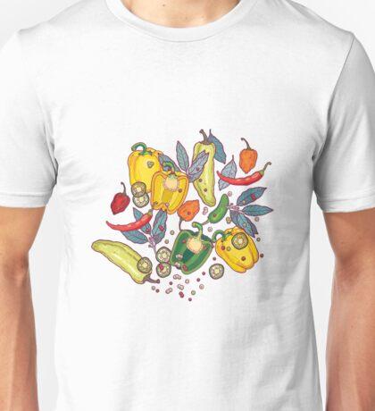 hot & spicy 2 Unisex T-Shirt