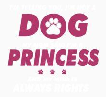 DOG - Princess Kids Tee
