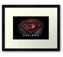 Superman Red Son Framed Print