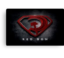 Superman Red Son Canvas Print