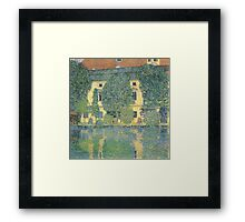 Klimt - The Schloss Kammer On The Attersee Iii Framed Print