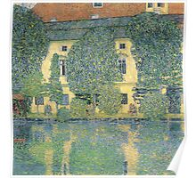 Klimt - The Schloss Kammer On The Attersee Iii Poster