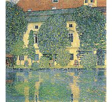 Klimt - The Schloss Kammer On The Attersee Iii Photographic Print