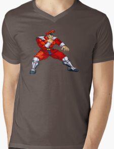 Mr. Bison - special guest fighter Mens V-Neck T-Shirt