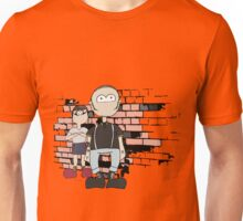 Skinhead Couple Design Unisex T-Shirt