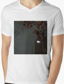 Autumn Bottle and Twigs Mens V-Neck T-Shirt