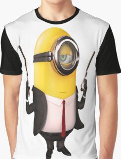 Minion|Minions|Hitman Graphic T-Shirt