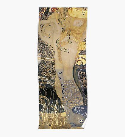 Gustav Klimt  - Water Serpents Poster