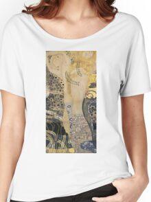 Gustav Klimt  - Water Serpents Women's Relaxed Fit T-Shirt