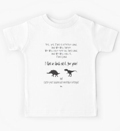 curse your sudden but inevitable betrayal, firefly, grey Kids Tee