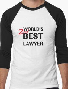 Better Call Saul - World's 2nd Best Lawyer Men's Baseball ¾ T-Shirt