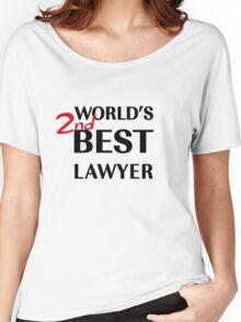 Better Call Saul - World's 2nd Best Lawyer Women's Relaxed Fit T-Shirt