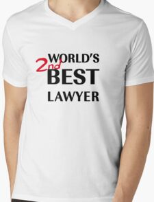 Better Call Saul - World's 2nd Best Lawyer Mens V-Neck T-Shirt