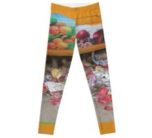FRUIT AND colourful TRASH in BEIJING Leggings