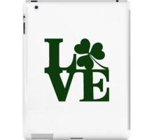 LOVE - Shamrock iPad Case/Skin