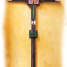 Empty Easter Cross by Francis Drake