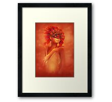Young Phoenix Framed Print