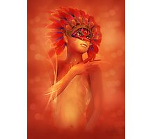 Young Phoenix Photographic Print