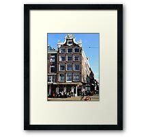 Amsterdam on a sunny February Sunday Framed Print