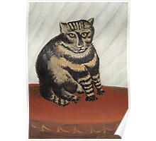 Henri Rousseau - The Tabby Poster