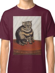 Henri Rousseau - The Tabby Classic T-Shirt