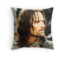 Aragorn Painting Throw Pillow
