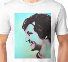 Boy smiling in pop colors, 2011, 24-30cm, oil on canvas Unisex T-Shirt