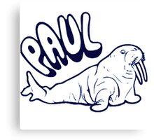 The Walrus was Paul Canvas Print