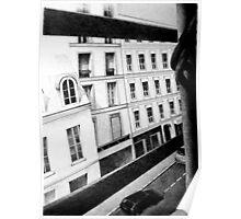 Paris Street View, 2011, 50-70cm, graphite crayon Poster